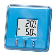 温湿度計(ブルー)