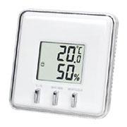 温湿度計(ホワイト)