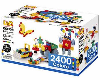 知育ブロック LaQ(ラキュー)ベーシック2400 カラーズ