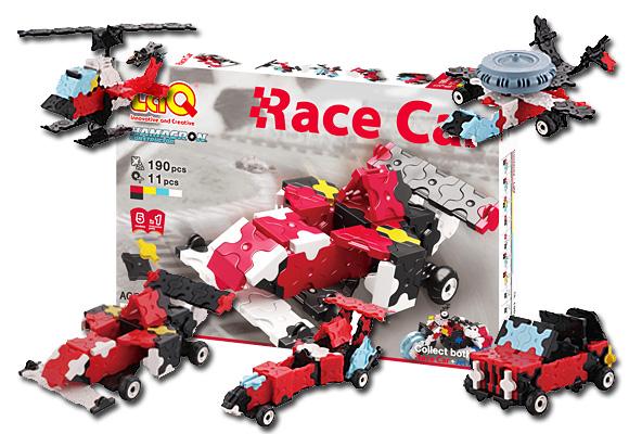 知育ブロック LaQ ハマクロンコンストラクター レースカー