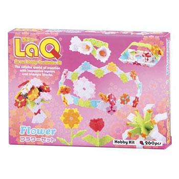 知育ブロック LaQ(ラキュー)ホビーキットシリーズ フラワーセット