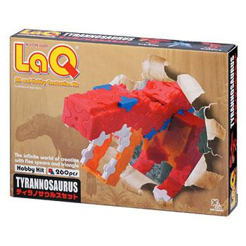 知育ブロック LaQ(ラキュー)ホビーキットシリーズ ティラノサウルスセット