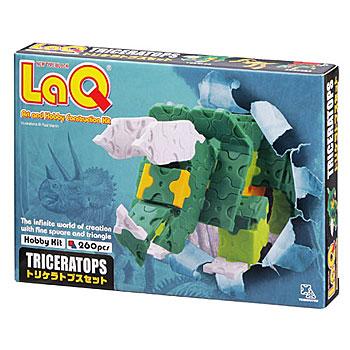 知育ブロック LaQ(ラキュー)ホビーキットシリーズ トリケラトプスセット