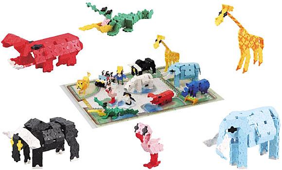 LaQ(ラキュー) イマジナルシリーズ 動物園セット サンプル作品