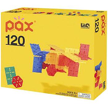 知育ブロック LaQ(ラキュー)pax(パックス)120