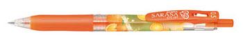 サラサクリップ(インク:レッドオレンジ 香り:スプラッシュオレンジ)