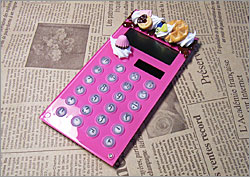 オリジナル デコ電卓 スイーツ