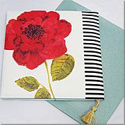Rosales クッションカード ~ デザイナーズギルド