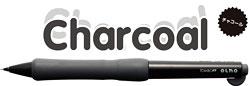 ボディノック式シャープペン OLNO(オルノ)チャコール
